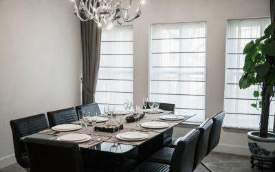 Facteurs clés affectant la disposition des meubles de salle à manger