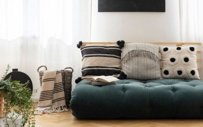 Comment incorporer des futons avec un design d'intérieur haut de gamme