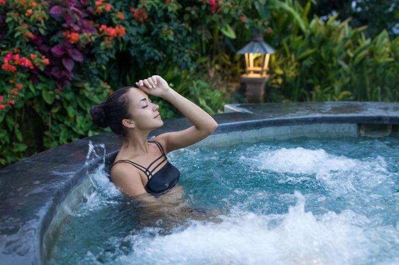 Avantages correctifs des spas Jacuzzi